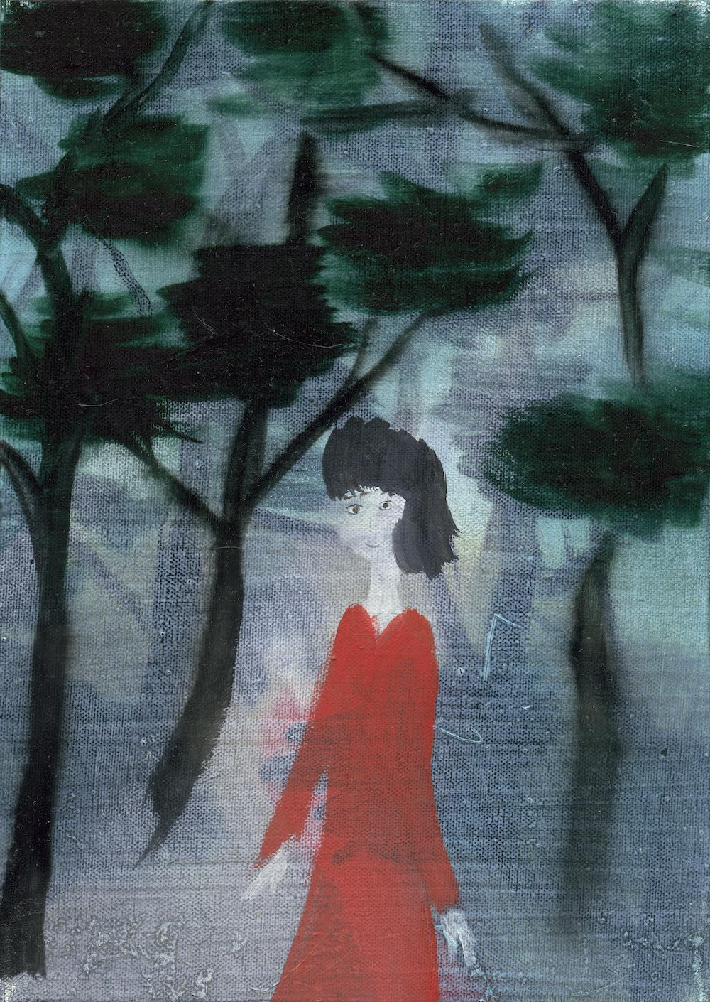西村有, A Girl in the Pinery, 2018
