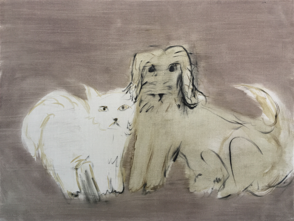 西村有, Dog and Cat, 2018